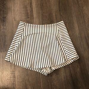 LF striped skort